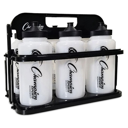 Champion® Water Bottle Set with Collapsible Caddy