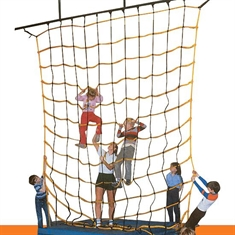 "Climb Net with 9""-Square Opening 10' x 10'"