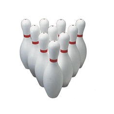 Poly Bowling Pins - Weighted