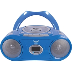 AudioAce™ Portable Bluetooth® Boombox and Media Player