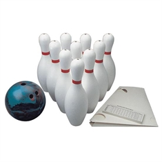 Weighted Bowling Set & 5 lb Ball